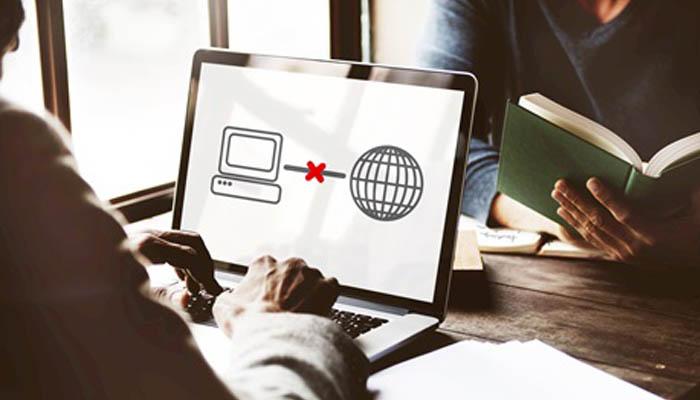 problemas de conexión a Internet