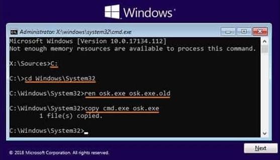 hackear contraseña de windows