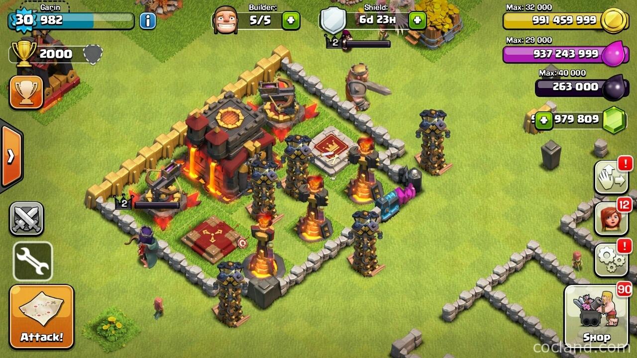 hackear clash of clans
